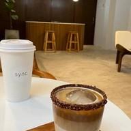 เมนูของร้าน Sync coffee