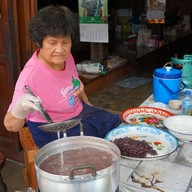 บรรยากาศ ขนมแปลก ชุมชนหนองบัว
