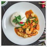อาหารตามสั่ง Steak indy × Satay masala ลาดพร้าว 87
