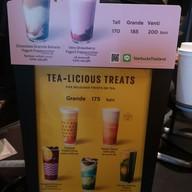 เมนู Starbucks Reserve All Season Place