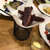 มันม่วงฟรายส์ Fried purple potato