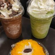 เมนูของร้าน Starbucks เซ็นทรัลพลาซา ปิ่นเกล้า