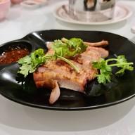 เมนูของร้าน ไก่บ้านพริกไทยดำ ห้าแยกพลับพลาไชย