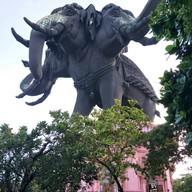 บรรยากาศ พิพิธภัณฑ์ช้างเอราวัณ