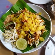 เมนูของร้าน บ้านรัก กุยช่ายและผัดไทยห่อแตก หัวหิน