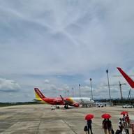 บรรยากาศ สนามบินนครศรีธรรมราช Nakhon Si Thammarat International Airport