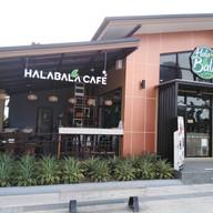 หน้าร้าน Halabala Cafe สาขาปัตตานีบาร์ซ่า