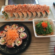 เมนูของร้าน MB Sushi หัวทะเล