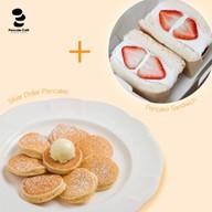 เมนูของร้าน Pancake Cafe X พัฒนาการ
