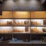 เมนูของร้าน Kafair Bistro