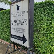 หน้าร้าน EARLY BIRD Coffee & Dessert Bar