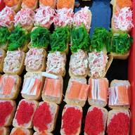เมนู ซูชิ ตลาดบ้านพริก