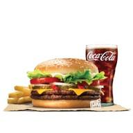 เมนูของร้าน Burger King เมอร์คิวรี่ วิลล์