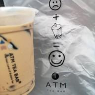เมนูของร้าน ATM Tea Bar Siam Square สยามสแควร์