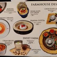 เมนู ฟาร์มเฮ้าส์ Farmhouse Restaurant