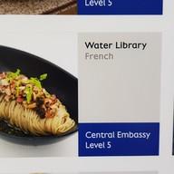 Water Library Brasserie เซ็นทรัล เอมบาสซี่