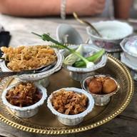 เมนูของร้าน บ้านใกล้วัง หัวหิน Baan Khrai Wang 露天海邊甜點餐廳