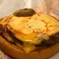 เมนูของร้าน Burger King ปั๊มบางจาก ถนนกาญจนาภิเษก Drive Thru