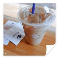 เมนูของร้าน Pacamara Coffee หอสมุดคณะแพทยศาสตร์ จุฬาลงกรณ์มหาวิทยาลัย