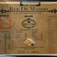 เมนู Rue De Mansri