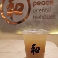 เมนูของร้าน Peace Oriental Teahouse อาคาร จีทาวเวอร์