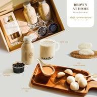 เมนูของร้าน Brown Cafe ブラウン นิมมานเหมินท์ ซอย 9