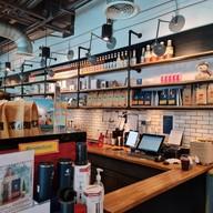 บรรยากาศ Pacamara Coffee หอสมุดคณะแพทยศาสตร์ จุฬาลงกรณ์มหาวิทยาลัย