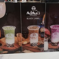 เมนู Moma's Bubble Tea Bar The market  Bangkok