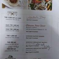 Orchid Café โรงแรมเชอราตันแกรนด์สุขุมวิท