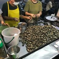 เมนูของร้าน หอยแครงลวกเจ๊ภา