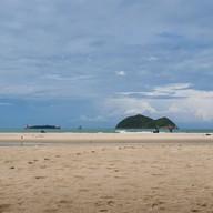 บรรยากาศ หาดสมิหลา Samila Beach
