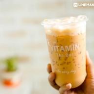 เมนูของร้าน Vitamin Tea Bar แม่กลอง