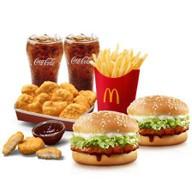 เมนูของร้าน McDonald's Central Marina