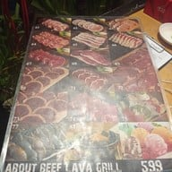 เมนู About Beef ซีฟู๊ด อาหารญี่ปุ่น & อร่อยไม่อั้น จิ้มจุ่ม ปลาเผา อาหารอีสาน