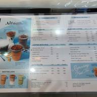 เมนู Alto Coffee Roasters เมกาบางนา
