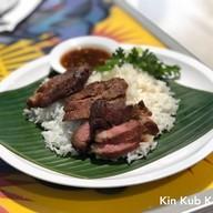 เมนูของร้าน คอหมูพระราม5 สาขาสาทร Mahanakhon Thai Taste Hub