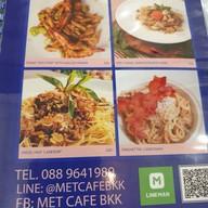 เมนู Met Cafe 168