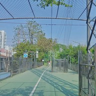 บรรยากาศ สะพานเขียว หน้าสวนลุม
