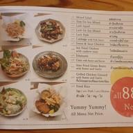 เมนู (un) FASHION Cafe & Dining