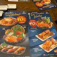 เมนู Sushi Den Central Ladprao