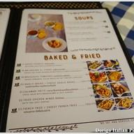 เมนู DORIGO Italian Pizza Cafe