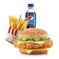 เมนูของร้าน KFC ปั๊มปตท.รังสิต-ปทุมธานี