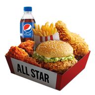 เมนูของร้าน KFC the Rest Area ประชาชื่น
