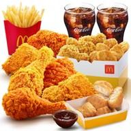 เมนูของร้าน McDonald's เมเจอร์ รัชโยธิน