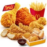 เมนูของร้าน McDonald's พีทีที เวสเทิร์น ริงโรด สามโคก (ไดร์ฟทรู)