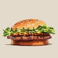 เมนูของร้าน Burger King ปั๊ม คาลเท็กซ์ ประชานุกูล Drive Thru