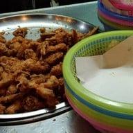 เมนูของร้าน ไก่ทอดป้าต้อย คอนโดเมืองเอก