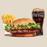 เมนูของร้าน Burger King มอเตอร์เวย์ ขาออก
