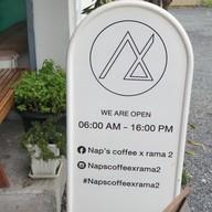 หน้าร้าน Nap's Coffee x Rama 2