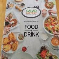 เมนู Salad Factory เมืองทองธานี